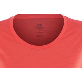 Icebreaker Tech Lite SS Low Crewe Shirt Women poppy red
